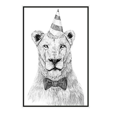 My Wonderful Walls Get the Party Started Lion Wall Decal; Small