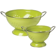 Now Designs 2 Piece Stainless Steel Colander Set; Cactus