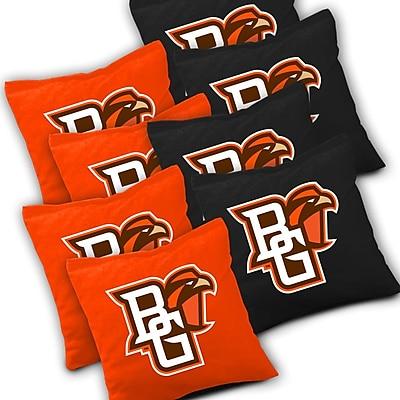 AJJCornhole NCAA Cornhole Bag (Set of 8); Bowling Green Falcons