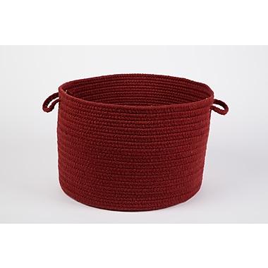 Wildon Home Bren Basket; Barn Red
