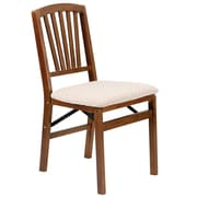 Stakmore Side Chair (Set of 2); Fruitwood