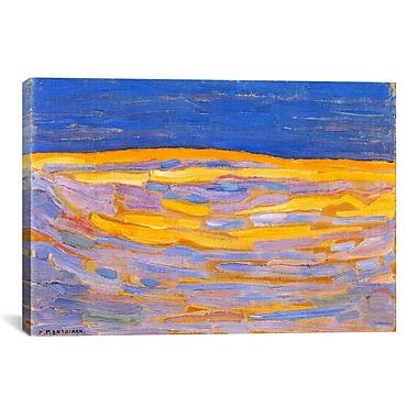 iCanvas 'Dune l, 1909' by Piet Mondrian Painting Print on Canvas; 18'' H x 26'' W x 0.75'' D