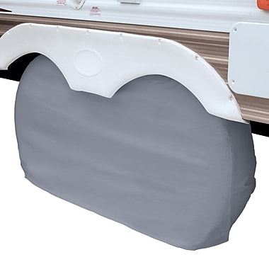 Classic Accessories OverDrive RV Wheel Cover; Gray