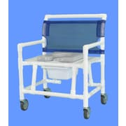 Care Products, Inc. Bariatric Commode Soft Seat Shower Chair