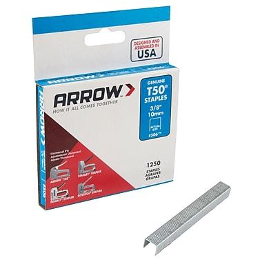 Agrafes Arrow pour le marteau agrafeur d'Aurora, 1250/boîte, PB305