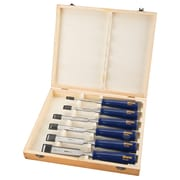 "Irwin Marples Blue Chip Woodworking Chisels, Sizes"", 1/4, 3/8, 1/2, 5/8, 3/4, 1, Tgz496"