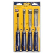 "Irwin Marples Blue Chip Woodworking Chisels, Sizes"", 1/4, 1/2, 3/4, 1, Tgz494"