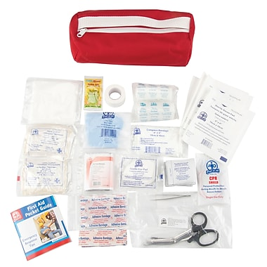 First Aid Kit, Material - Nylon, SAP138, 4/Pack