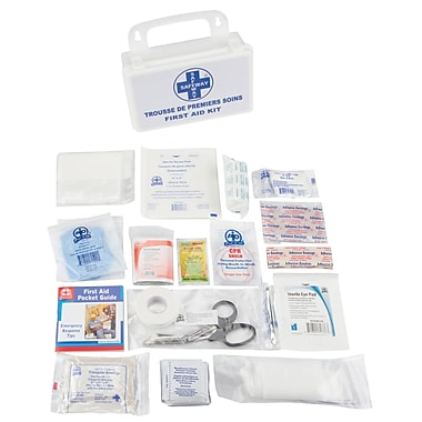 First Aid Kit, Material - Plastic, SAP139, 4/Pack