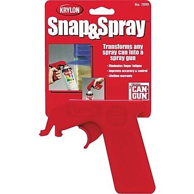 Snap & Spray Aerosol Canholder, Aa054, 12/Pack