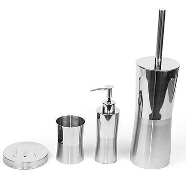 Gedy by Nameeks Primula 4-Piece Bathroom Accessory Set