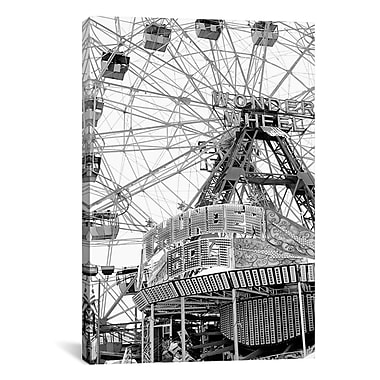 iCanvas 'Coney4' by Chris Bliss Photographic Print on Canvas; 26'' H x 18'' W x 0.75'' D