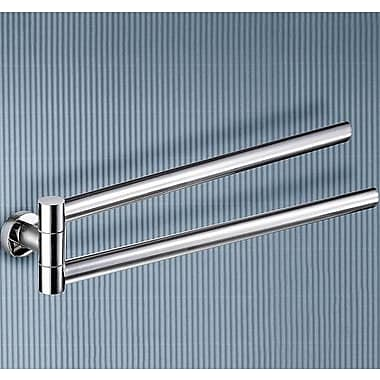 Gedy by Nameeks Demetra Jointed Double Wall Mounted Towel Bar