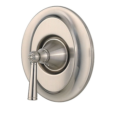 Pfister Saxton Single Handle Tub and Shower Valve Only Trim; Brushed Nickel