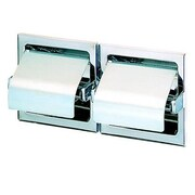 Geesa by Nameeks Standard Hotel Double Recessed Toilet Paper Holder w/ Cover