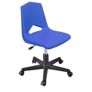 Marco Group MG1100 Series Plastic Classroom Chair; Blue