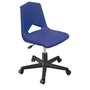 Marco Group MG1100 Series Plastic Classroom Chair; Navy