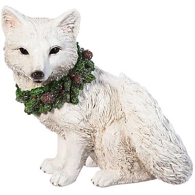 Evergreen Enterprises, Inc All is Calm Snow Fox Statue