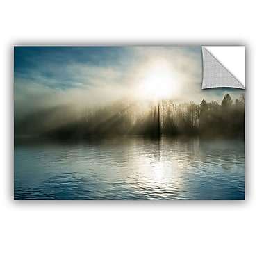 ArtWall Rising Above The Water Wall Mural; 16'' H x 24'' W x 0.1'' D