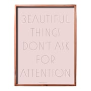 Bloomingville ''Beautiful Things  '' Framed Textual Art