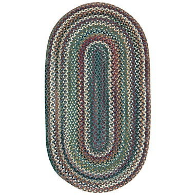 Capel Sherwood Forest Area Rug; Concentric Runner 2'4'' x 8'