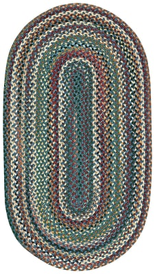 Capel Sherwood Forest Area Rug; Concentric Runner 2'3'' x 9'