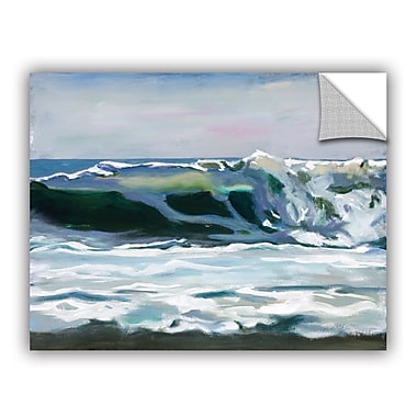 ArtWall Shore Break 2 Wall Mural; 36'' H x 48'' W x 0.1'' D