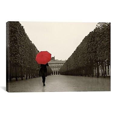 iCanvas Paris Stroll I Feet by Sue Schlabach Graphic Art on Wrapped Canvas; 40'' X 26'' X 0.75''