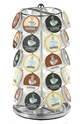 Coffee Pod Carousel in Chrome - 35 Capacity