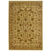 "StyleHaven Transitional Large Scale Floral Polypropylene 7'10""X10' Red/Gold Area Rug WSTN6034C8X10L"