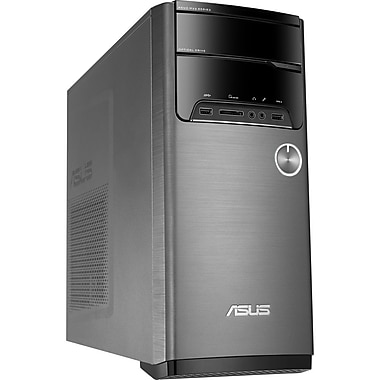 ASUS (M32BF-RS1-CB) Desktop Computer, 3.9GHz AMD A10-7800, 8GB RAM, 1TB HDD, Windows 10