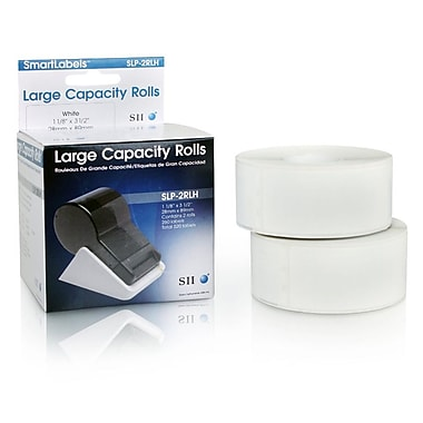 Seiko Instruments SLP-2RLH High Capacity Address Labels, 2/Rolls