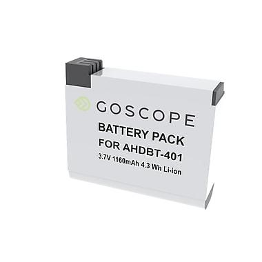 GoScope® – Chargeur double GS029 avec pile de rechange pour GoPro HERO4