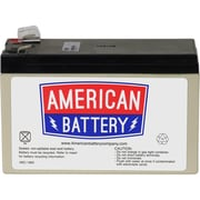 "ABC RBC2 UPS Battery Replacement, 5.94"" x 2.56"" x 3.70"", Black"