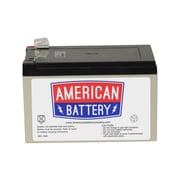 "ABC RBC4 UPS Battery Replacement, 5.94"" x 3.9"" x 4.1"", Black"