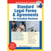 Legal forms self counsel press standard legal forms and agreements solutioingenieria
