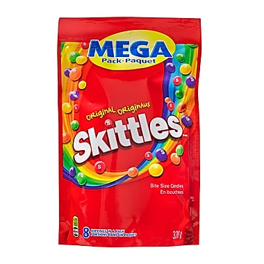 Skittles Original Fruit Candy, 320g Pouch