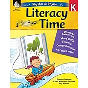 Shell Education Rhythm & Rhyme Literacy Time, Paperback, Grade K