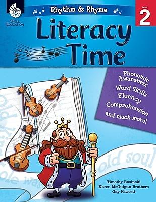 Shell Education Rhythm & Rhyme Literacy Time, Level 2, Paperback