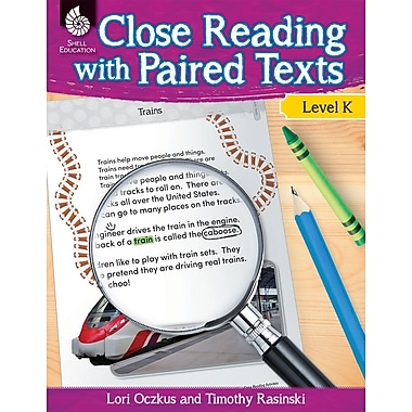 Close Reading with Paired Texts Level K, Paperback (51356)