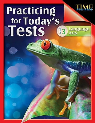 TIME For Kids: Practicing for Today's Tests Language Arts Level 3, Paperback (51436)