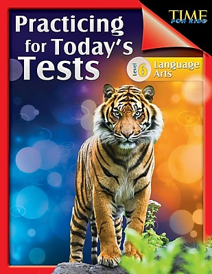 TIME For Kids: Practicing for Today's Tests Language Arts Level 6, Paperback (51439)