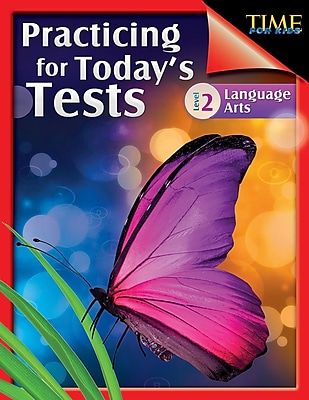 TIME For Kids: Practicing for Today's Tests Language Arts Level 2, Paperback (51474)
