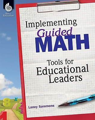 Shell Education Implementing Guided Math, Paperback