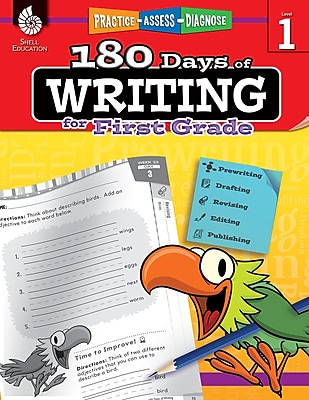 180 Days of Writing for First Grade, Paperback (51524)