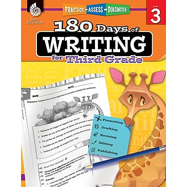 180 Days of Writing for Third Grade, Paperback (51526)