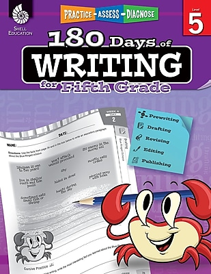 180 Days of Writing for Fifth Grade, Paperback (51528)