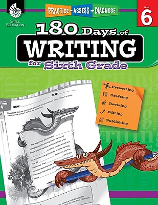 180 Days of Writing for Sixth Grade, Paperback (51529)