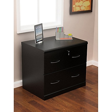Z-Line 2 Drawer Lateral File, Black,Letter/Legal, 29''W (ZL2263-2BLU)