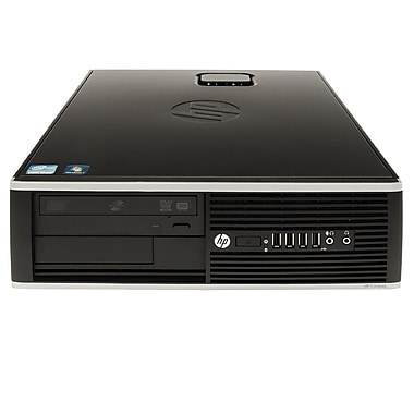 HP - PC de bueau 8200 SFF QR313US#ABA remis à neuf, Intel i5 2400 3,1GHz, RAM 4Go, DD 500Go, DVDRW, Windows 10, anglais